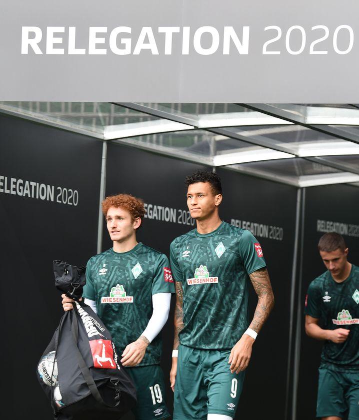 Davie Selke (rechts) kam im Winter von Hertha BSC. Seine Bilanz: kein Tor, keine Vorlage in der Liga