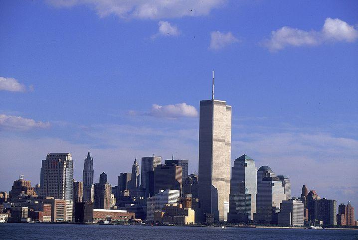 Vor dem Zeitenschnitt: Das alte World Trade Center