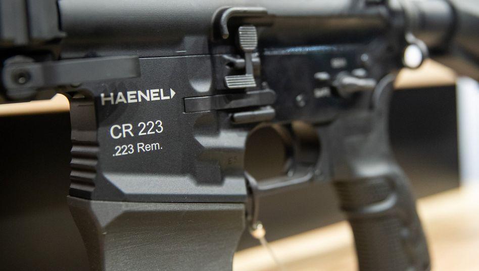 Gewehr des Herstellers Haenel: Die Thüringer Firma soll das neue Sturmgewehr für die Bundeswehr liefern