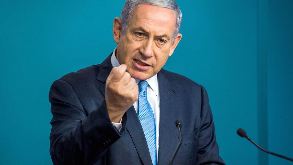 """Ministerpräsident Netanyahu: """"Das ist ungerecht"""""""
