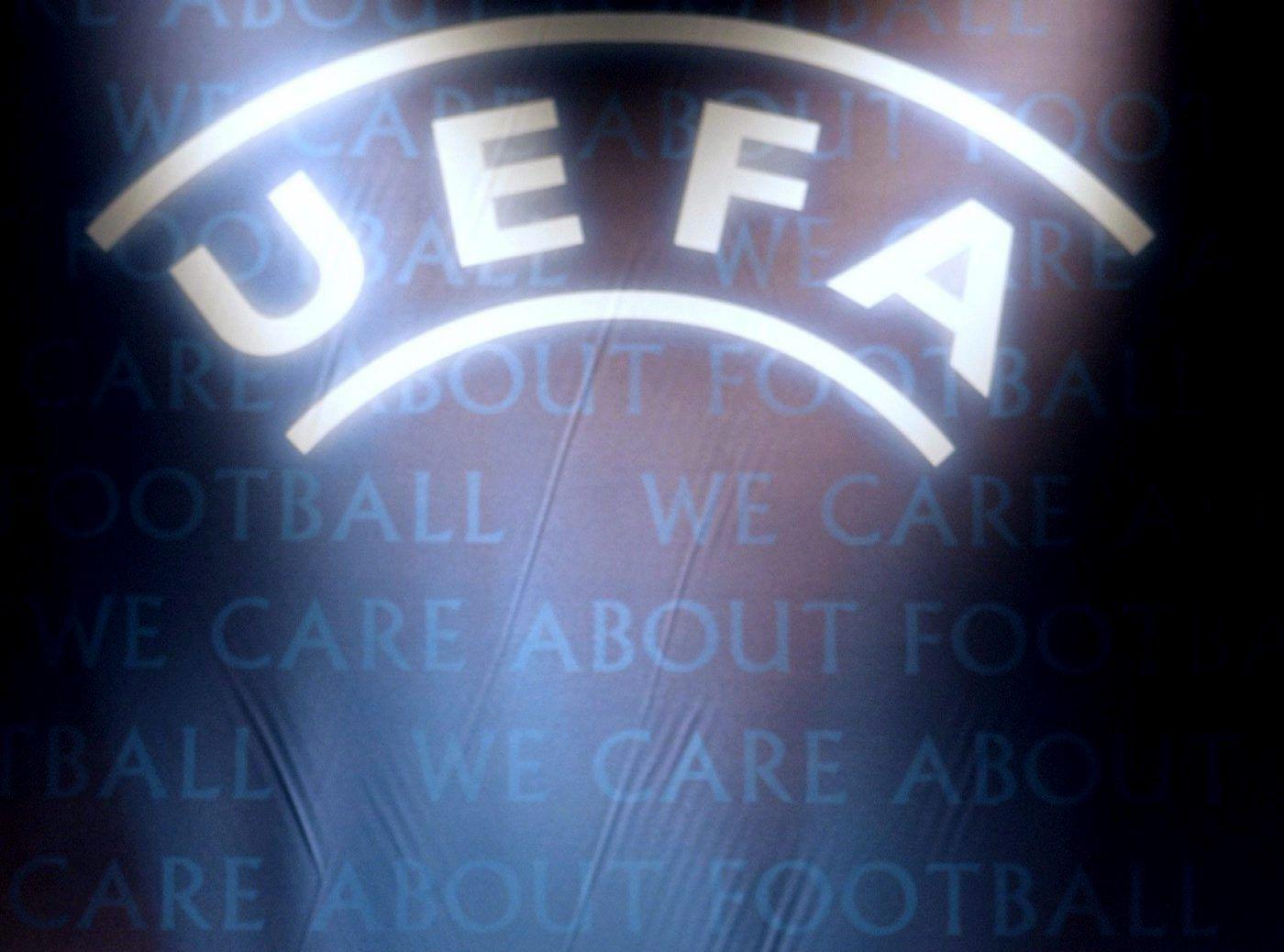 UEFA / Logo / Schriftzug