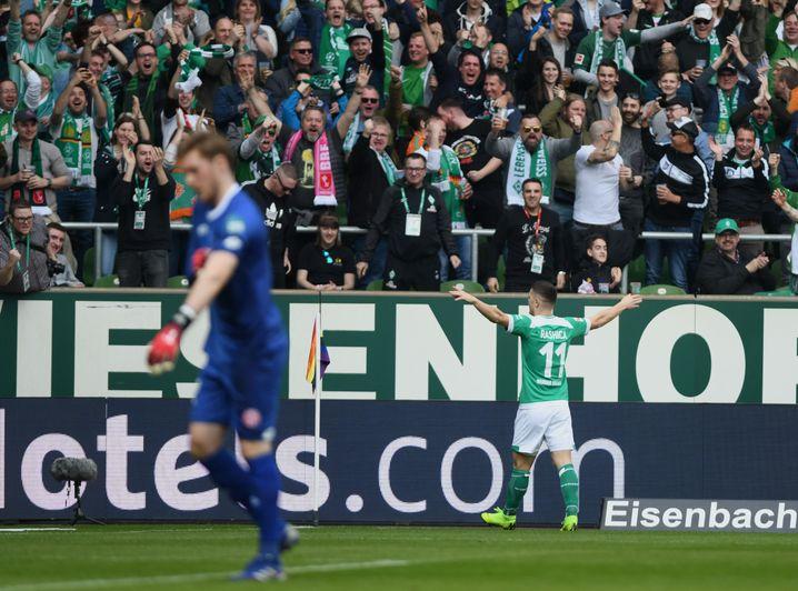 Werder hatte vor der Saison große Ambitionen, zeigt aber auch große Leistungen.