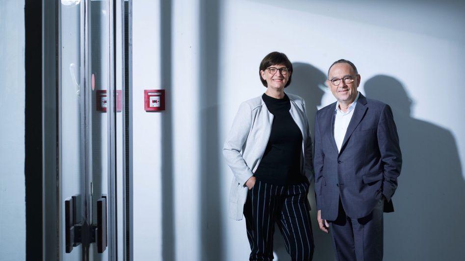 """Führungsduo Esken, Walter-Borjans:""""Da können wir noch besser werden"""""""