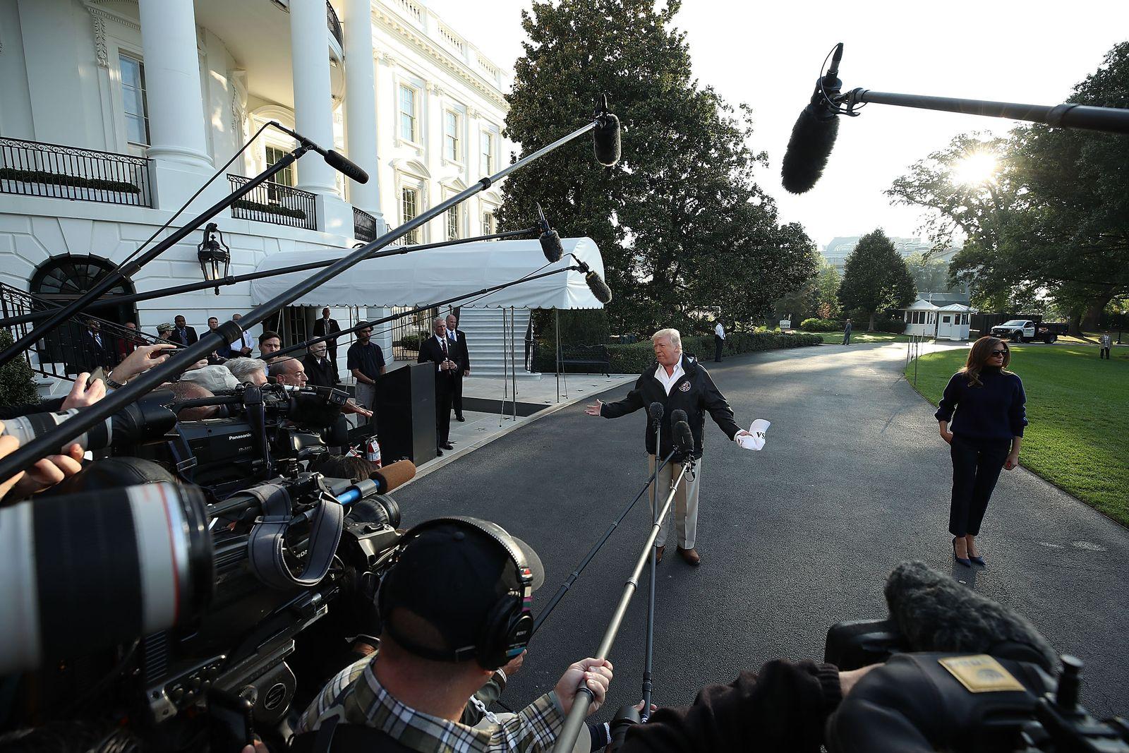 Trump/ US Medien