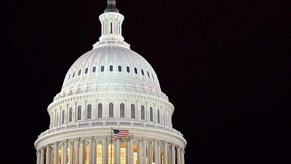 Kapitol, Sitz des US-Kongresses in Washington: Keine Infos, keine Unterlagen