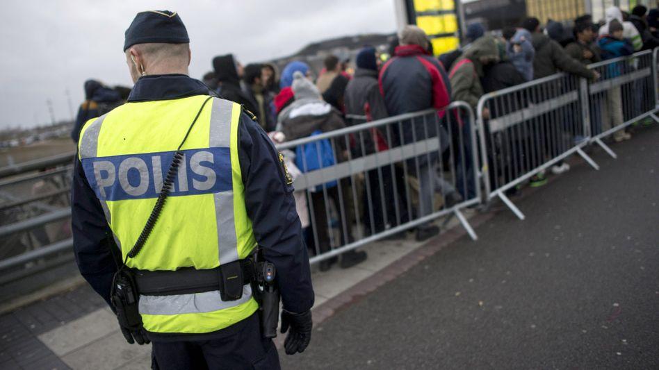 Polizist in Schweden