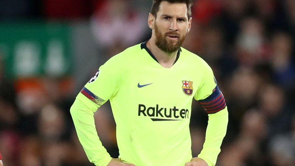 Nach spanischen Medienberichten dürfte Lionel Messi den FC Barcelona im nächsten Sommer ablösefrei verlassen