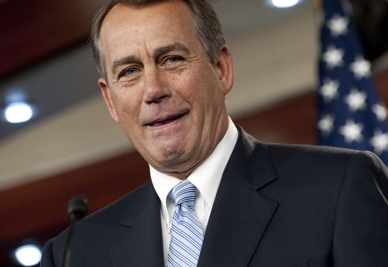 John Boehner (Sprecher des Repräsentantenhauses)