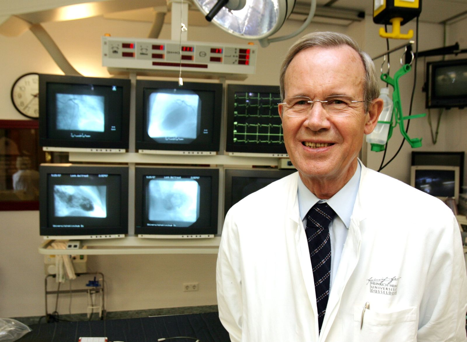 Stammzellen-Therapie / Herzschock-Patienten / Strauer