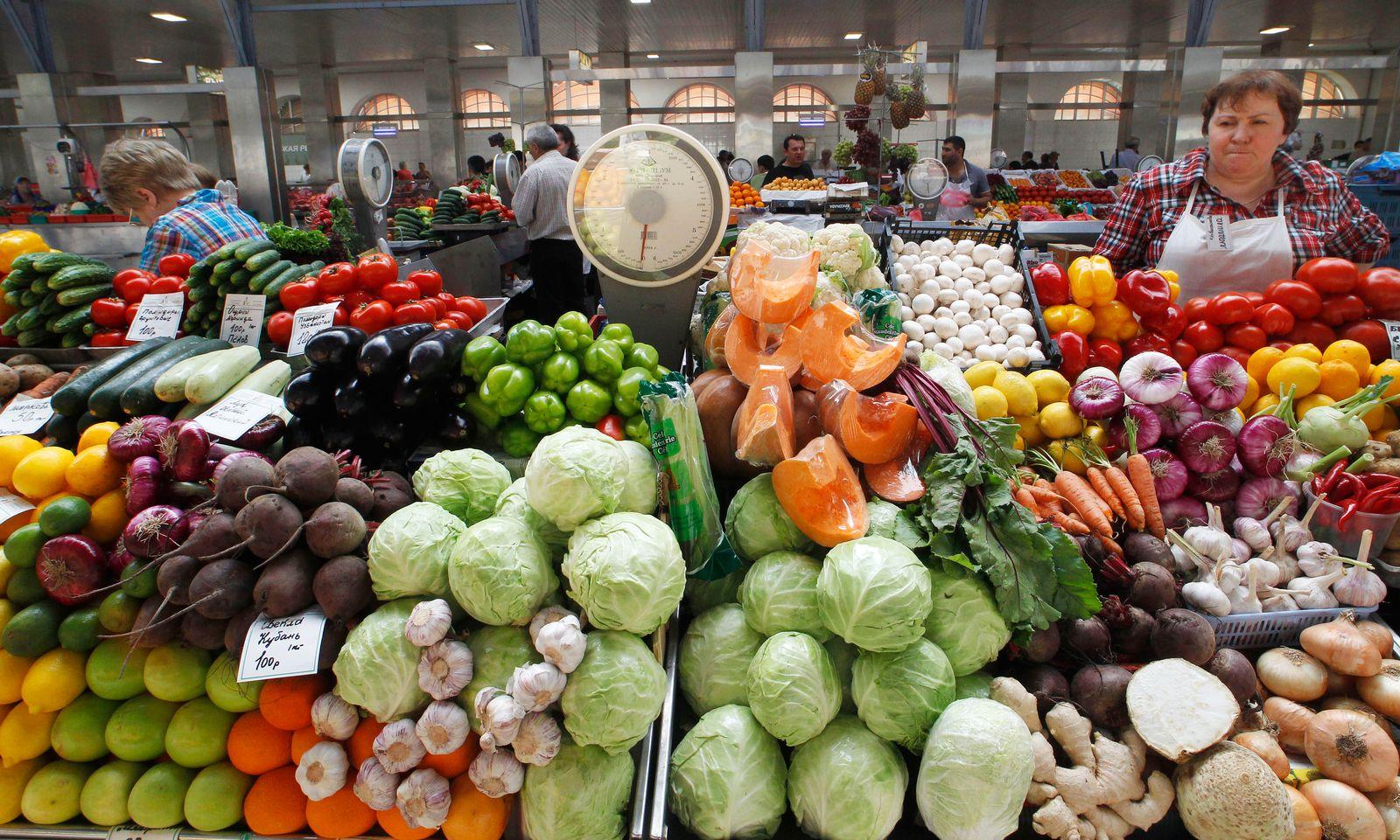 Russland / Obst / Gemüse / Import
