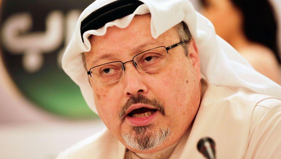 Journalist Jamal Khashoggi 2015