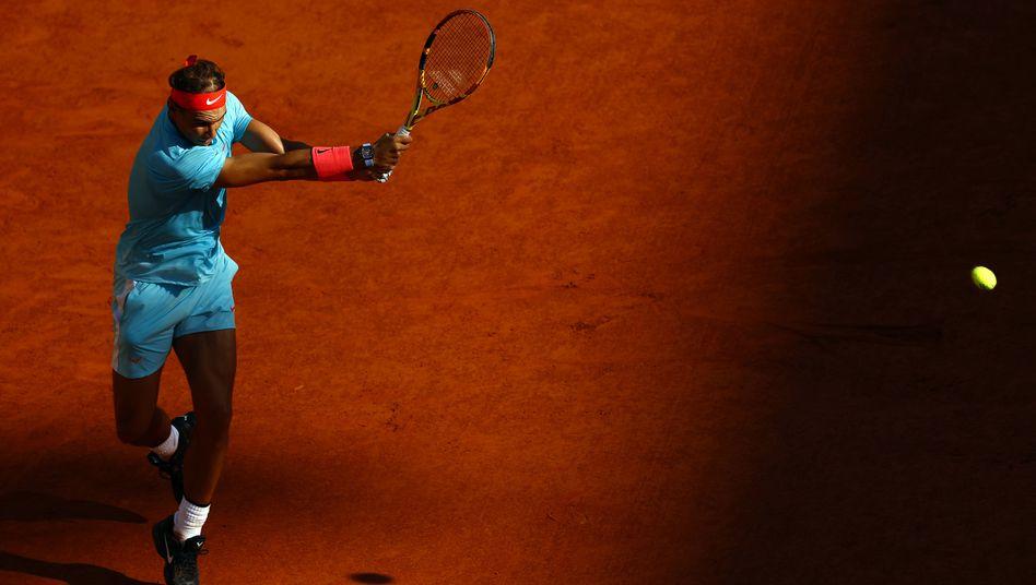 Rafael Nadal im Match gegen Diego Schwartzman