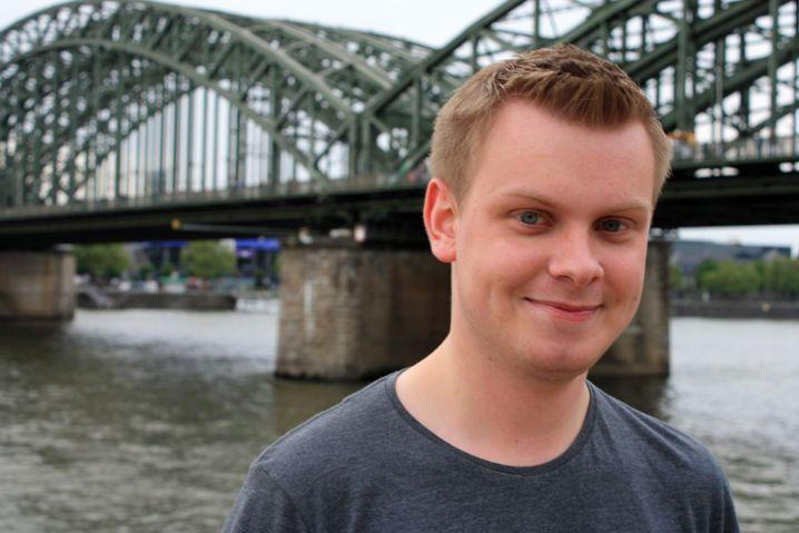 Am Rhein daheim: Marcel Hagedorn studiert in Köln Jura im vierten Semester