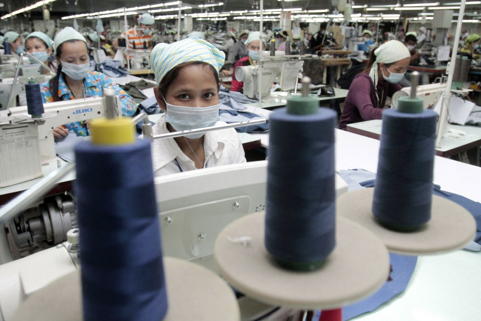 Kambodscha / Textilindustrie