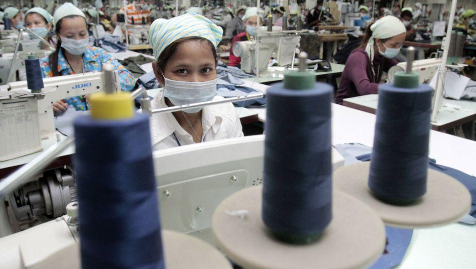 Textilindustrie in Kambodscha
