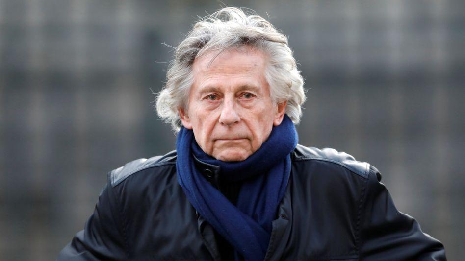 Roman Polanski auf der Trauerfeier für den Musiker Johnny Hallyday in Paris