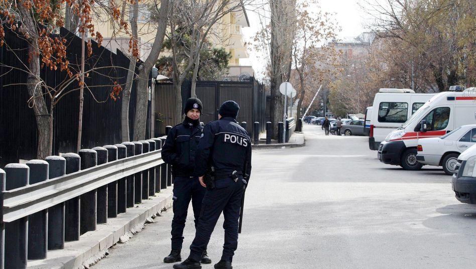 Selbstmordanschlag auf US-Botschaft in Ankara: Spur führt nach Deutschland