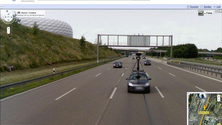 Street View: Kuriositäten, Pixelpannen, Zeitsprünge