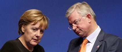 Koch has been running a xenophobic campaign for re-election in Hesse -- and Merkel has done little to stop him.