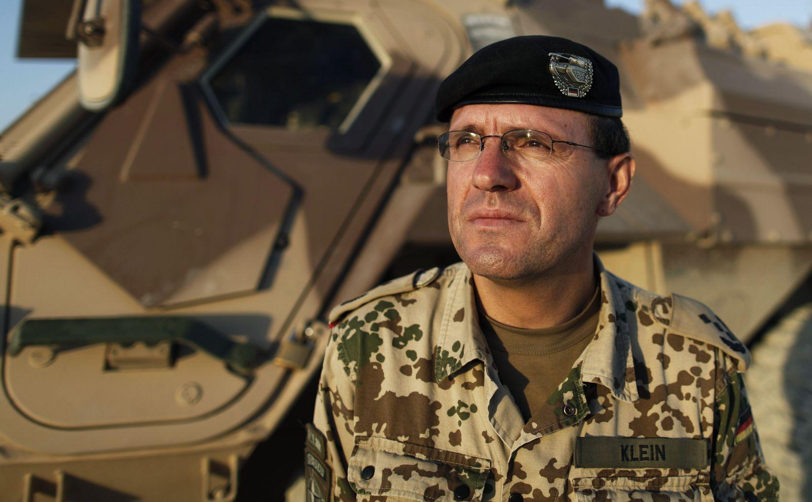 Oberst Georg Klein / Bundeswehr / Afghanistan