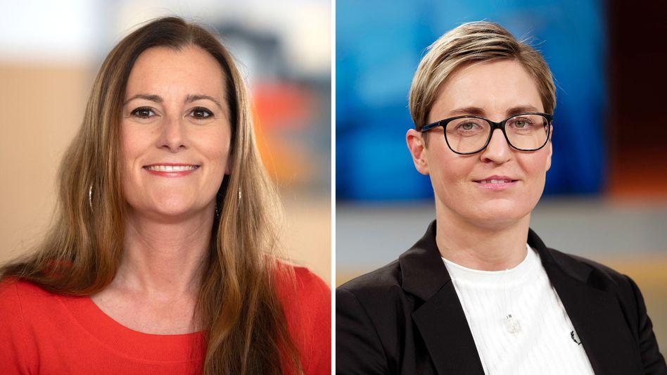 Favoritinnen für den Linken-Vorsitz: Janine Wissler, Susanne Hennig-Wellsow