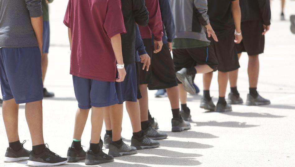 Migrantenkinder in Brownsville