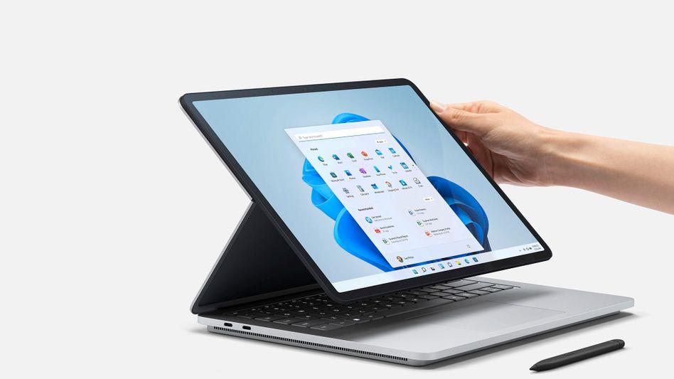 Surface Laptop Studio: Vorzeige-PC für Windows 11