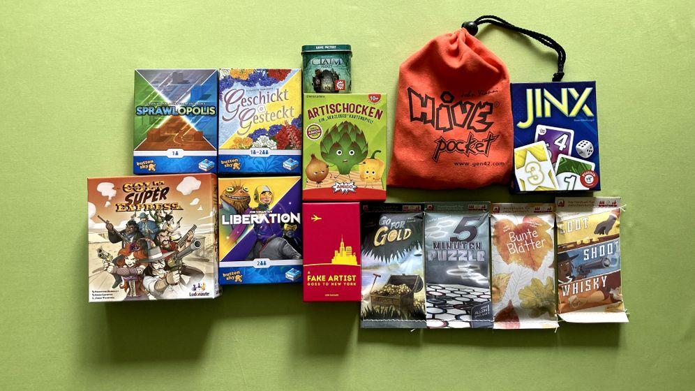 Kleine Spiele für den Reiserucksack