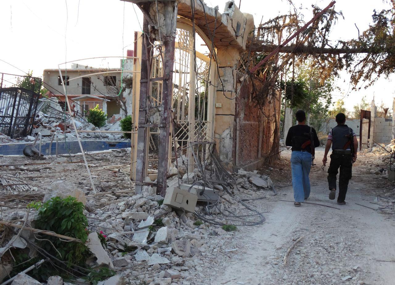 EINMALIGE VERWENDUNG Syria / Mleiha