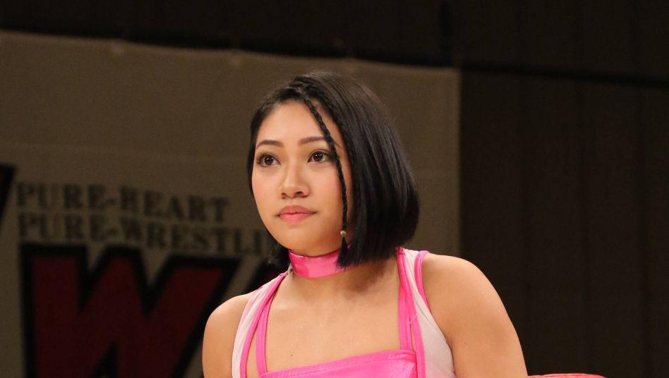 "Wrestlerin Hana Kimura, bekannt aus dem Format ""Terrace House"""