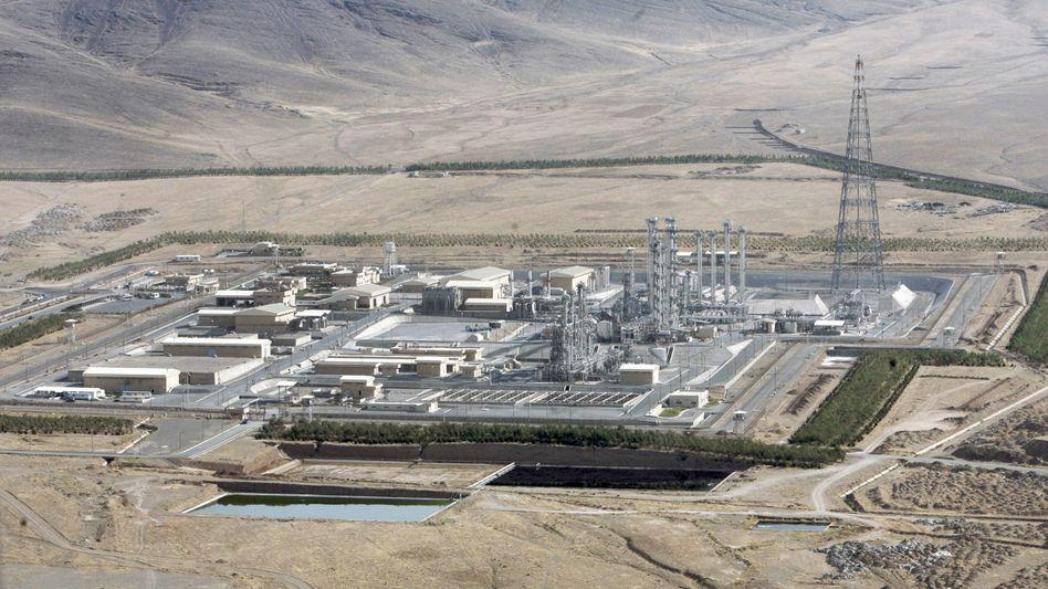 Atomanlage in Iran: stockende Verhandlungen