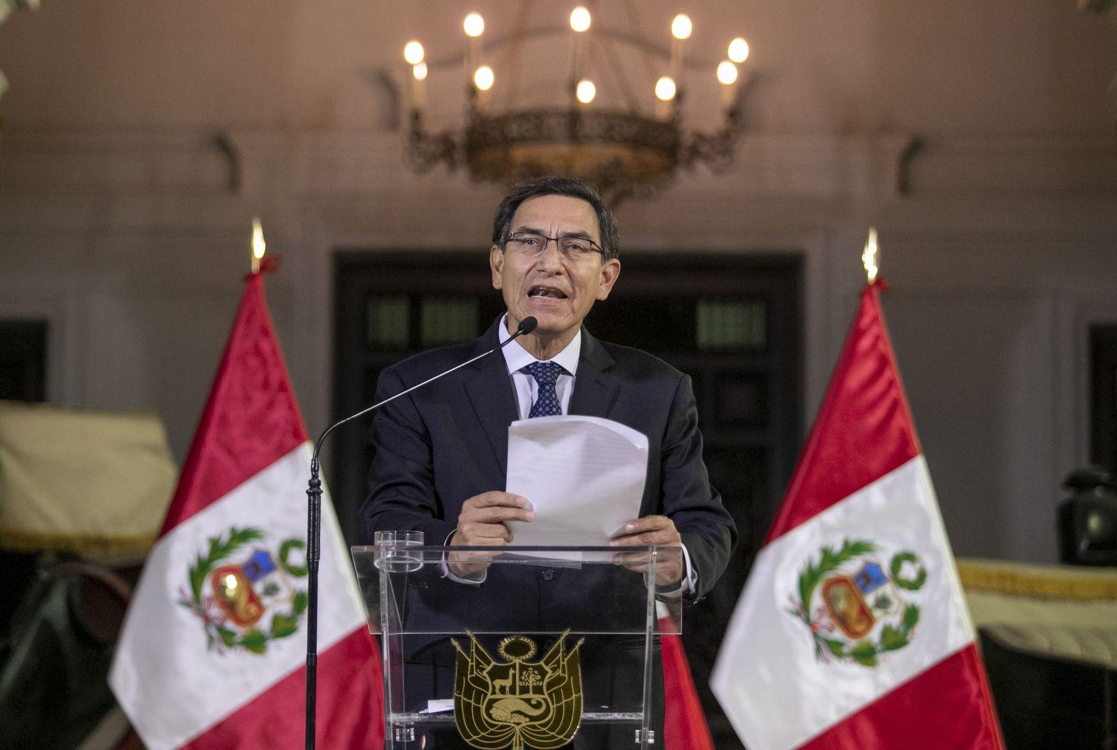Machtkampf in Peru