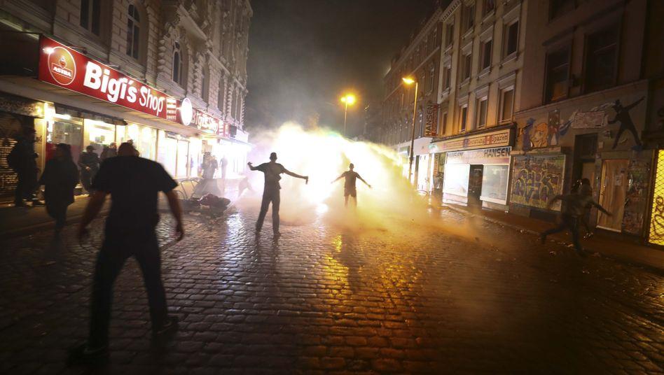 Proteste beim G20-Gipfel in Hamburg