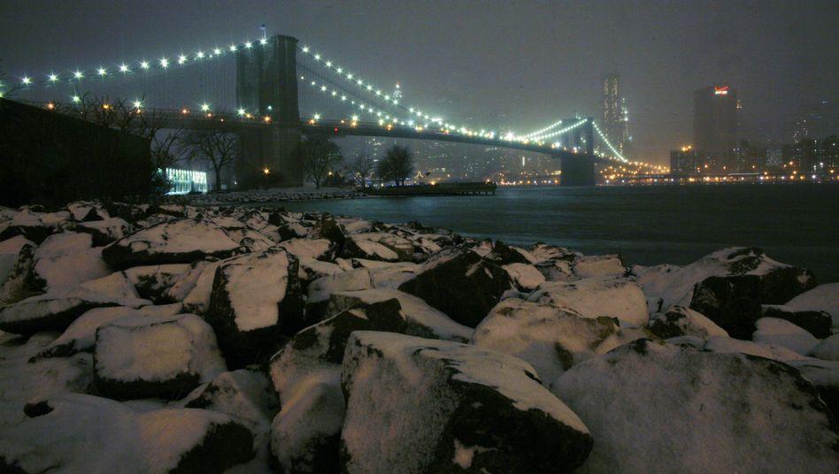 Dann kam der Blizzard: New York in der Eiseskälte