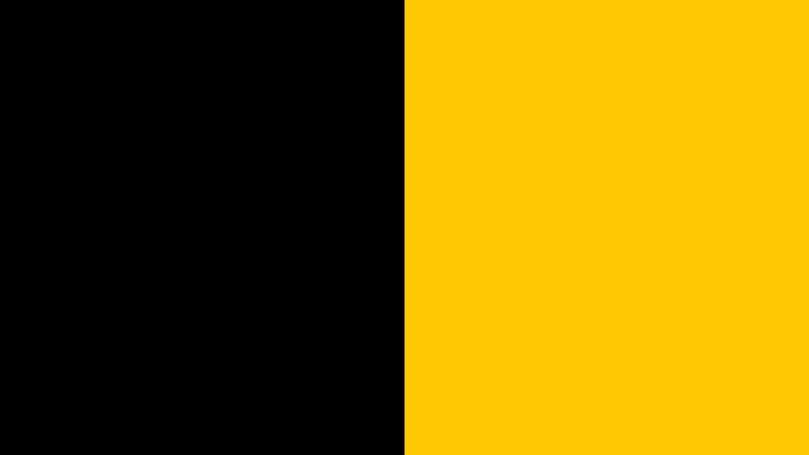Grafik - Koalition Flagge - Schwarz-Gelb