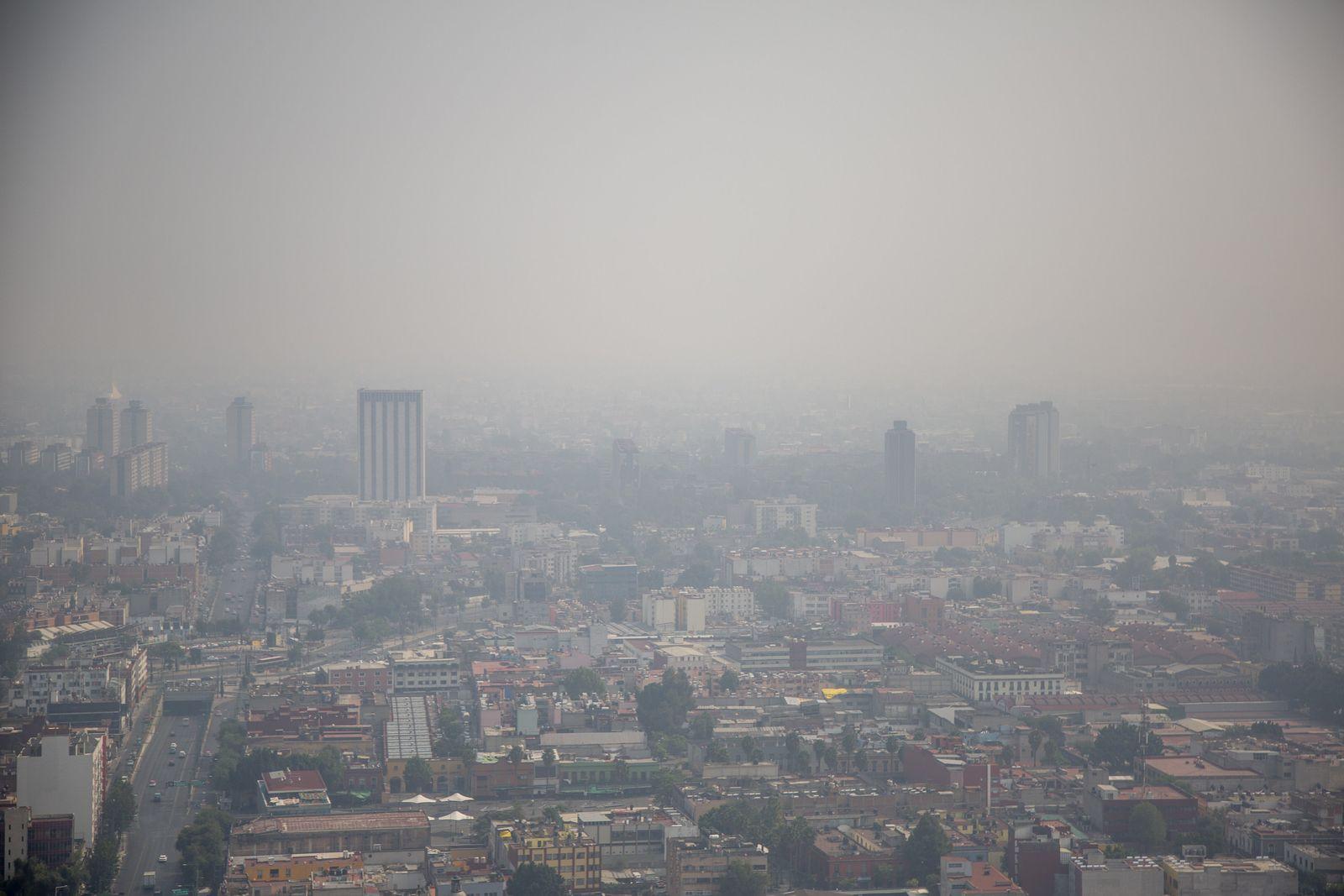Luftverschmutzung in Mexiko-Stadt