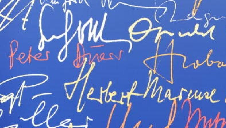 Suhrkamp-Autoren-Signaturen