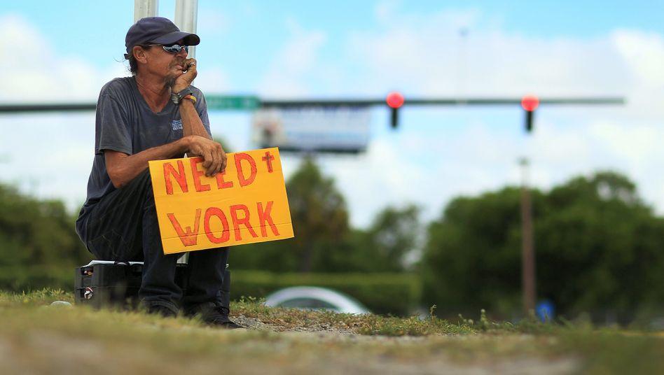 """Arbeitssuchender in Pompano Beach, Florida: """"Eine solche Krise haben wir nie zuvor gesehen"""""""