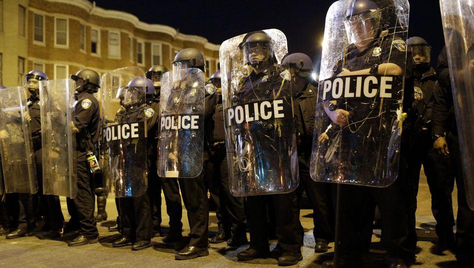 Schusswaffengebrauch: US-Polizisten töten in nur fünf Monaten 385 Menschen