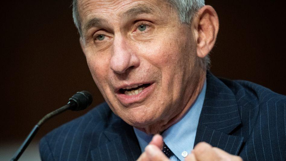 Anthony Fauci: Virus könnte jahrelang im Umlauf sein
