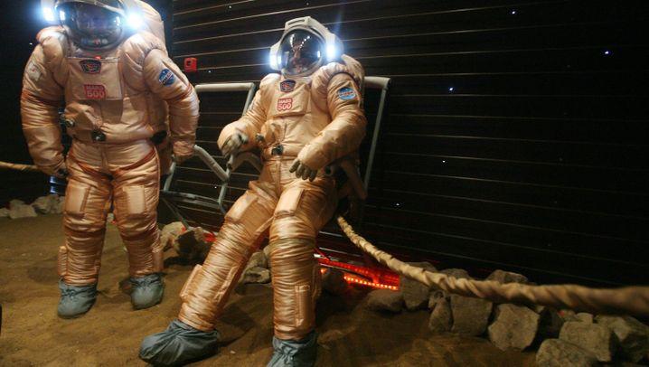 Mars-Experiment: Ab in die Röhre