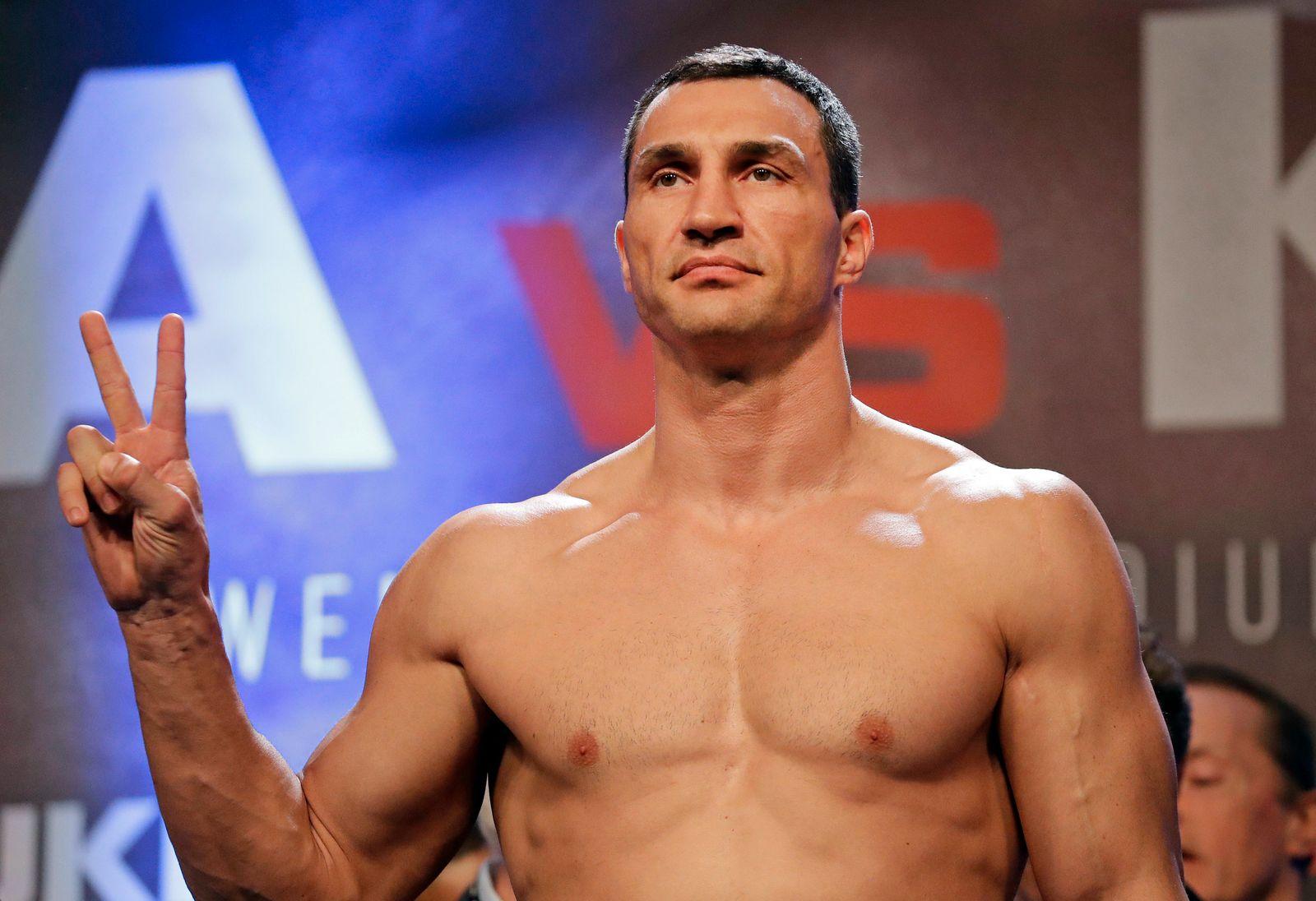 WBA-Super-WM Schwergewicht Klitschko - Joshua