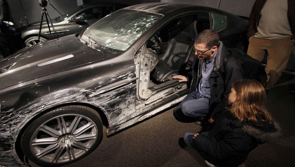 James Bonds Filmfahrzeuge: Das Auto, das ich schrottete