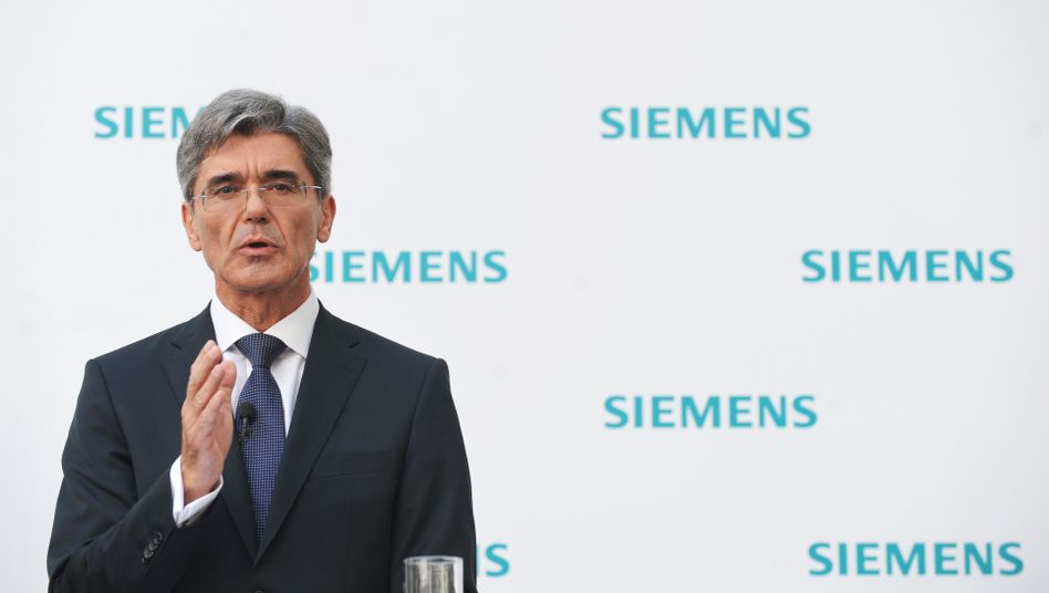 """Siemens-Chef Kaeser: Stellenabbau """"mit Besonnenheit und Respekt"""""""