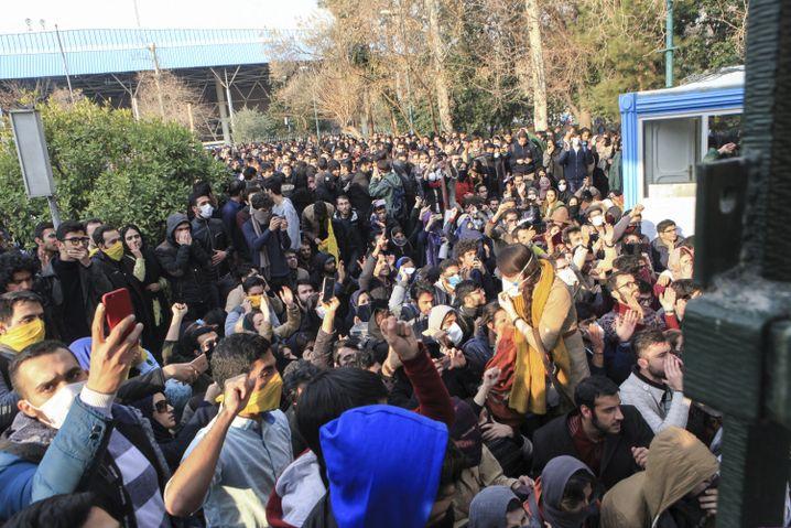 Demo in Teheran am Samstag