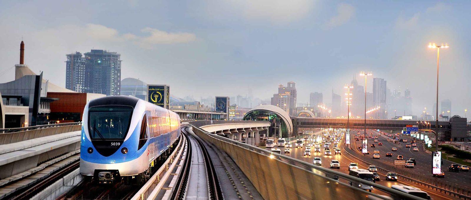 Dubai / Scheikh Zayed Road