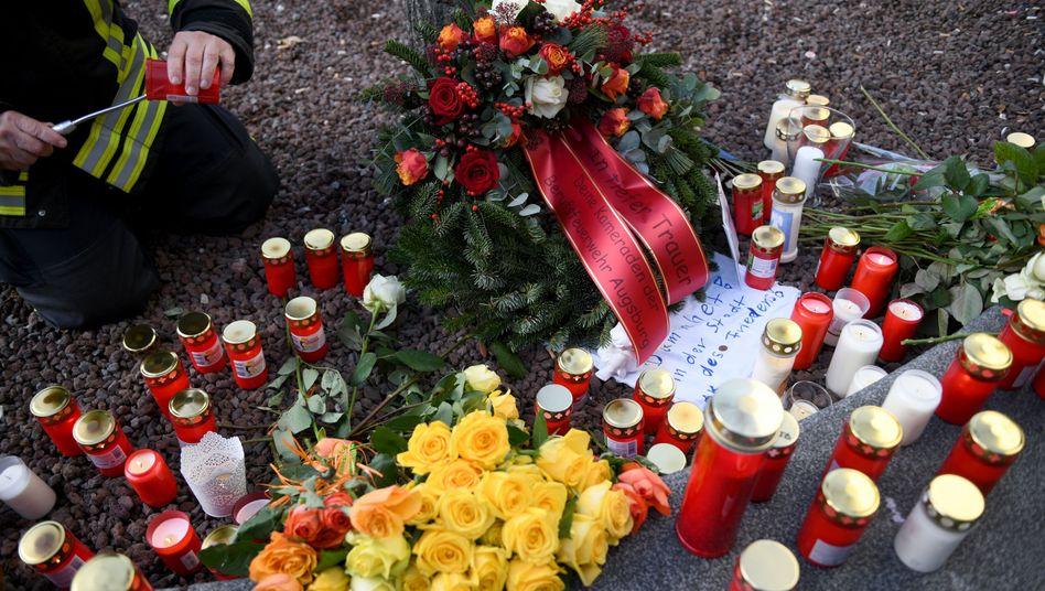 Gedenken am Tatort: Totgeschlagen nach Besuch auf dem Christkindlesmarkt