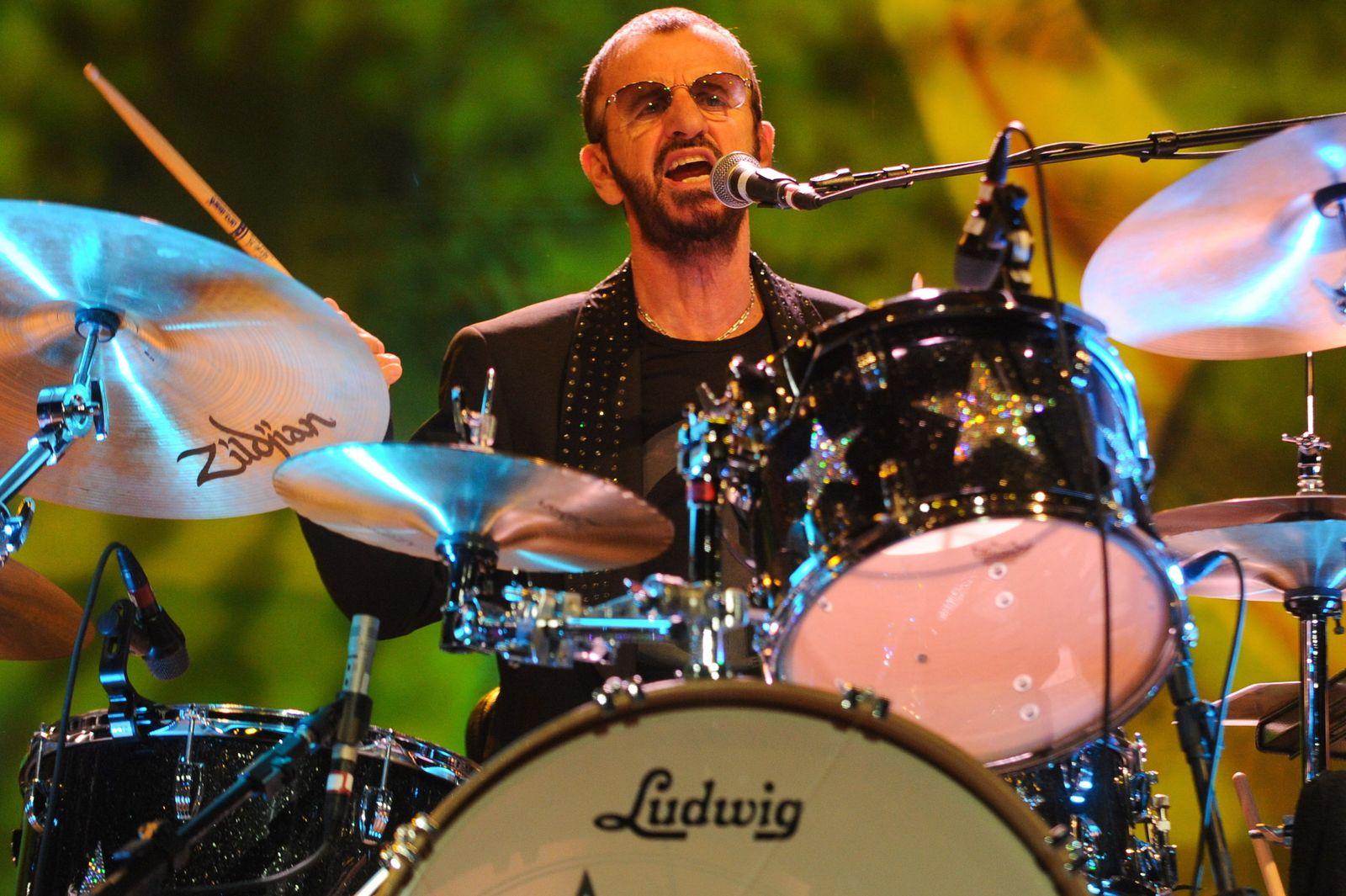 Ex-Beatle Ringo Starr wird 80
