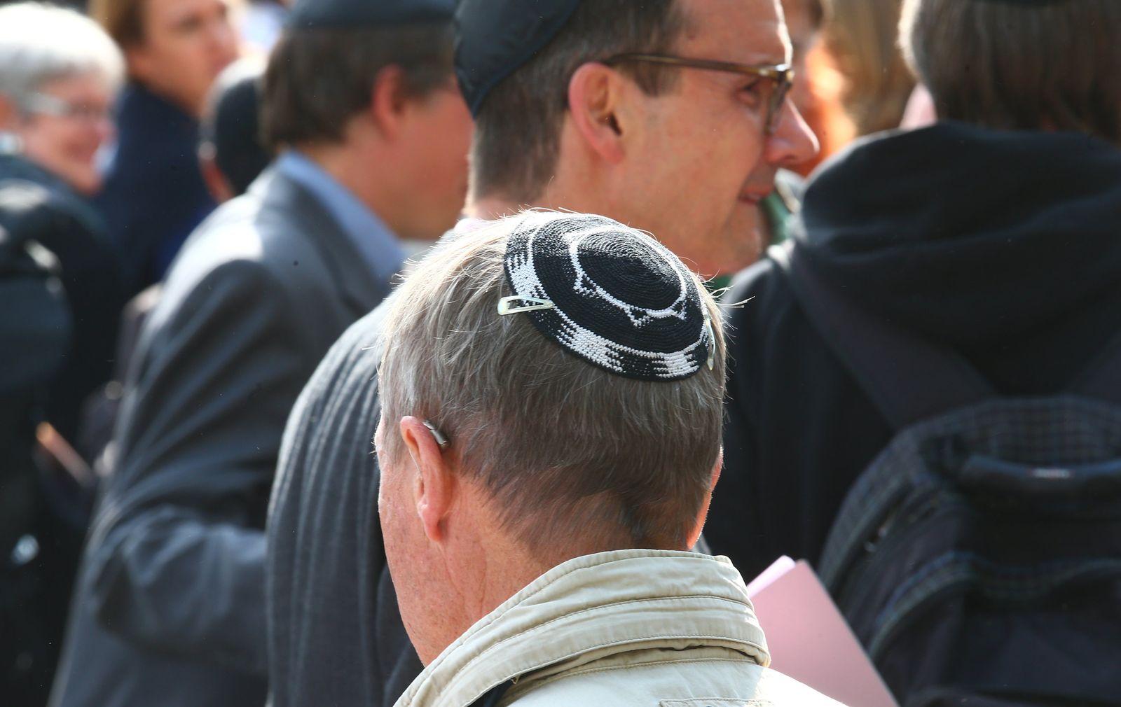 Demonstration gegen Antisemitismus
