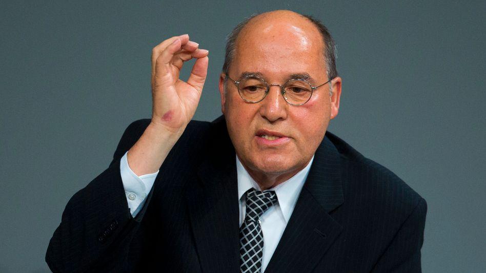 """Linken-Fraktionschef Gysi: """"Wir sind uns einig, die Bezeichnung nicht zu verwenden"""""""